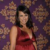 Constance Zimmer Actress Constance Zimmer Attends HBO Emmy After Party