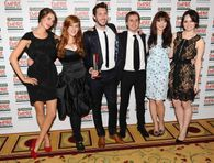 Blake Harrison and Laura Haddock  Jameson Empire Awards Drinks