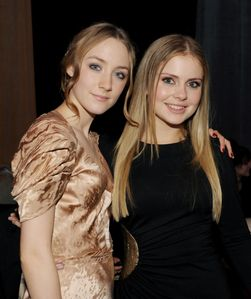 Rose McIver and Saoirse Ronan Photos - Premiere Of Paramount Pictures