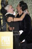 Daphne Guinness  Irina Shayk at the 2011 Marie Claire Prix de la Mode