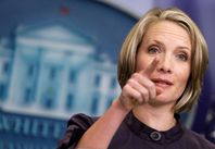 Dana Perino White House Press Secretary Dana Perino speaks during the