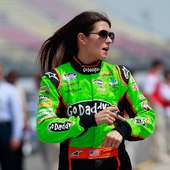 Danica Patrick, Driver Of The #7 GoDaddy.com Chevrolet, Walks On The
