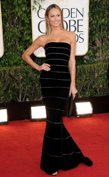 Stacy Keibler At 70th Annual Golden Globe Awards In Beverly Hills