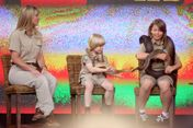 Bindi Irwin Terri And Bob On The Oprah
