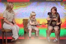 Bindi Irwin Terri Irwin, Bindi Irwin and Bob Irwin on the Oprah