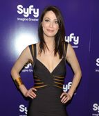 syfy upfront party in this photo joanne kelly actress joanne kelly