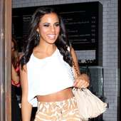 Rochelle Wiseman The Saturdays Are Seen Leaving The New American