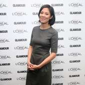 Alex Wagner MSNBC Anchorwoman Alex Wagner Attends The Glamour And L