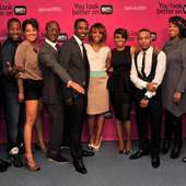 Bow Wow And Cynthia Kaye McWilliams Photo - Celebs At BET Networks New
