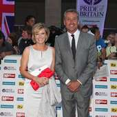 Julie Etchingham Julie Etchingham And Mark Austin Attends The Pride Of