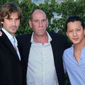 Chris Bowers (L-R) Actors Chris Bowers, Miguel Ferrer, And Will Yun