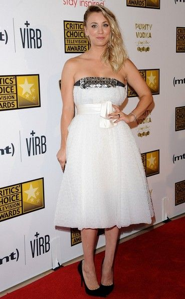 Kaley Cuoco At 2013 Critics Choice Television Awards In Beverly Hills