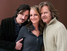Helen Hunt Actors John Hawkes, Helen Hunt and William H  Macy pose for