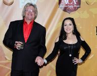 Ron White Comedian Ron White (L) and his wife, singer/songwriter Margo