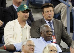 Alec Baldwin Photos - Alec and Stephen Baldwin at the US Open - Zimbio