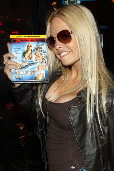 Jesse Jane With Gun
