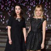 Matilda Sturridge Actresses Matilda Sturridge And Sienna Miller Attend