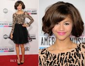 Zendaya Coleman wore an Alice + Olivia 'Bergen' dress with a