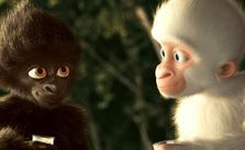in Animated/Live Action Feature Film– Snowflake the White Gorilla