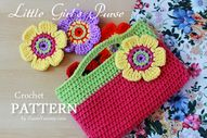 New Pattern � Little Girl�s Crochet Purse � Crochet � Zoom Yummy