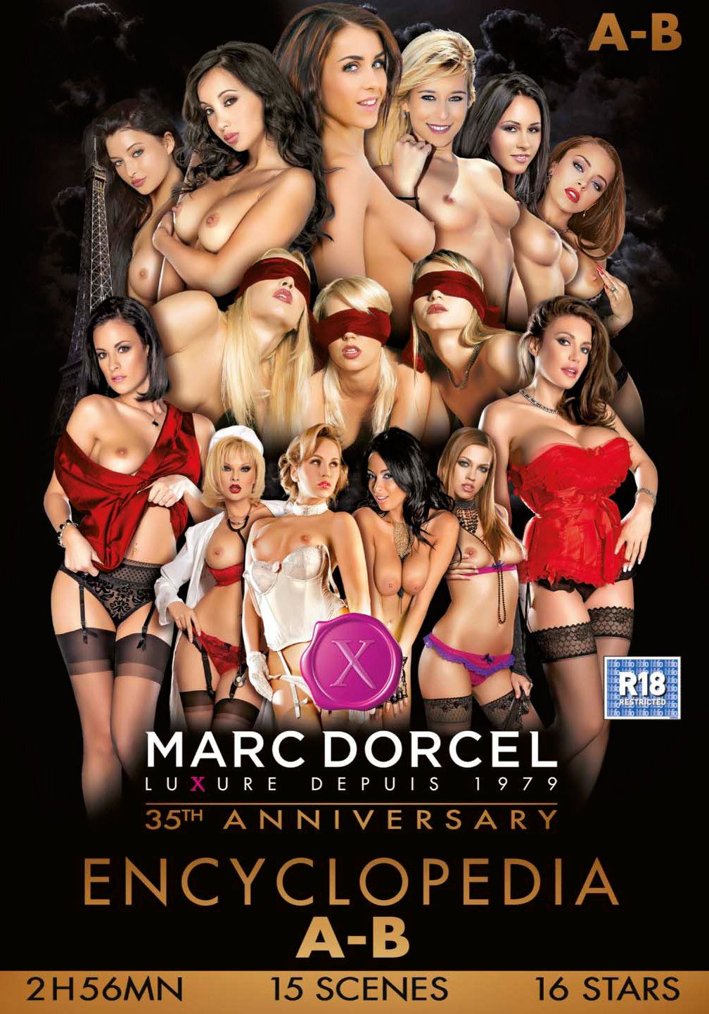 Marc Dorcel The 35th Anniversary Encyclopedia