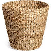 Water Hyacinth Round Waste Bin