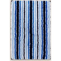 Quick Dry Striped Bath & Pedestal Mats