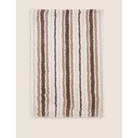 Quick Dry Striped Bath & Pedestal Mats