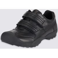 Kids' Leather Standard Fit School Shoes - Half Sizes Available