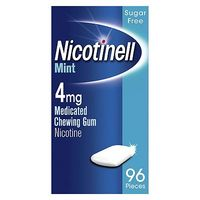 Nicotinell Mint 4mg Medicated Chewing Gum Nicotine  96 Pieces