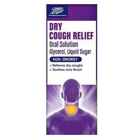 Boots Dry Cough Relief Oral Solution   150ml