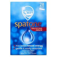 Spatone 100  Natural Iron Supplement 28 One a Day Sachets 560ml