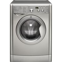 INDESIT IWDD7143S Washer Dryer - Silver, Silver