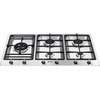 SMEG PS906-4 Gas Hob - Stainless Steel, Stainless Steel