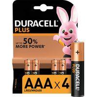 DURACELL AAA Plus Alkaline Batteries