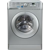 INDESIT Innex XWD71252S Washing Machine - Silver, Silver