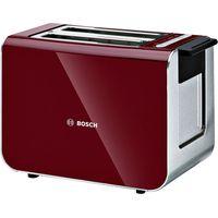 BOSCH Styline Sensor 2-Slice Toaster - Cranberry Red, Cranberry