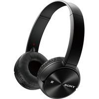 SONY MDR-ZX330BT Wireless Bluetooth Headphones - Black, Black