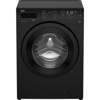 BEKO WDX8543130B Washer Dryer - Black, Black