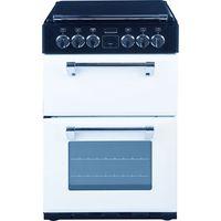 STOVES Richmond 550DFW Dual Fuel Cooker - White, White