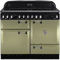 RANGEMASTER Elan 110 Electric Ceramic Range Cooker - Olive Green, Olive