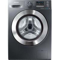 SAMSUNG ecobubble WF70F5E2W4X Washing Machine - Graphite, Graphite