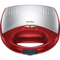 BREVILLE VST038 2 Slice Sandwich Toaster - Red, Red