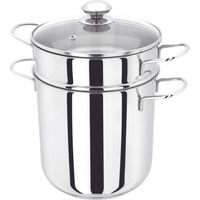 JUDGE JA80 20 cm Pasta Pot - Stainless Steel, Stainless Steel