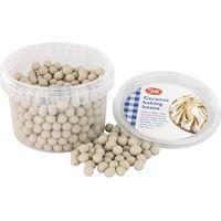 TALA Ceramic Pie Beads - Beige, Beige