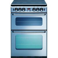 NEW WORLD 600TSIDOM Gas Cooker - Silver, Silver
