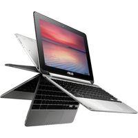 ASUS C100PA 10.1 Chromebook Flip - Silver, Silver