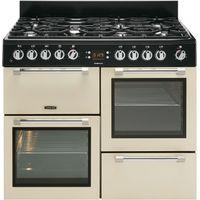 LEISURE Cookmaster CK110F232C Dual Fuel Range Cooker - Cream, Cream