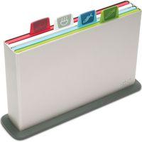 JOSEPH JOSEPH Index 60026 Chopping Board Set - Silver, Silver