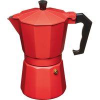 LEXPRESS Italian Style Espresso Coffee Maker - Red, Red